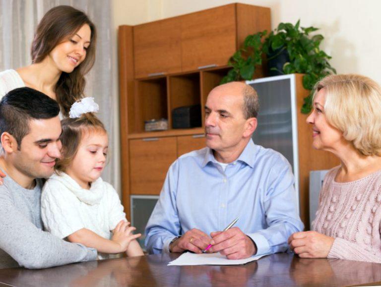 Наследование после родителей